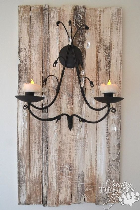s 30 brilliant things you can make from cheap thrift store finds, Lonely candle sconce to beautiful wall decor