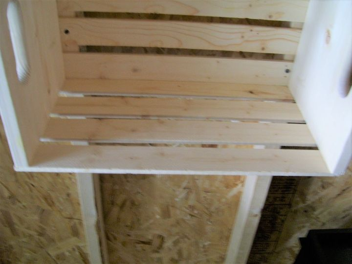 quick and easy shelving for a shed or bunkie