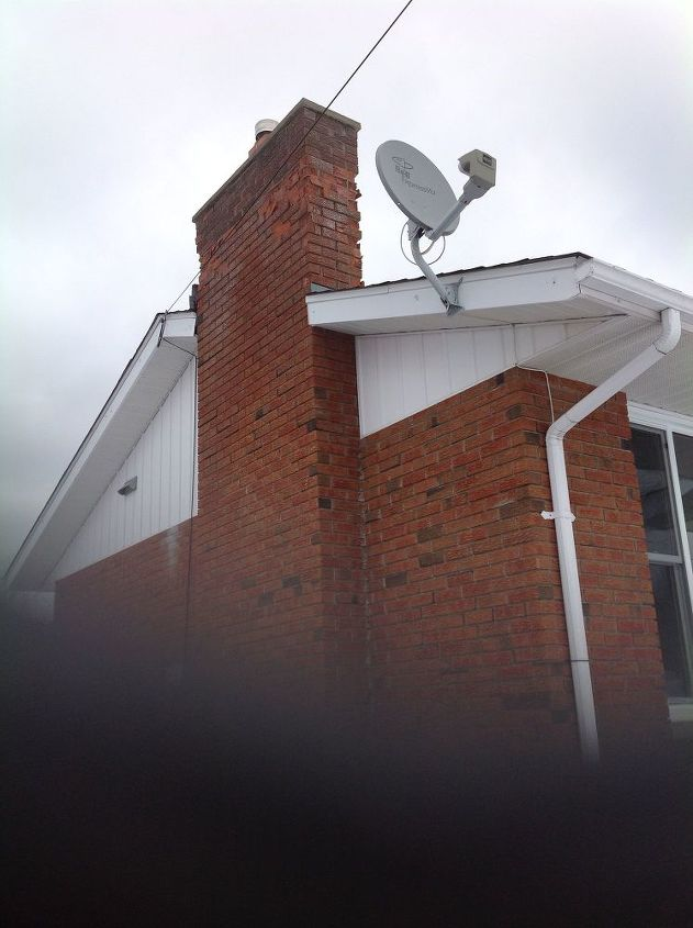 q how to repair top of chimney