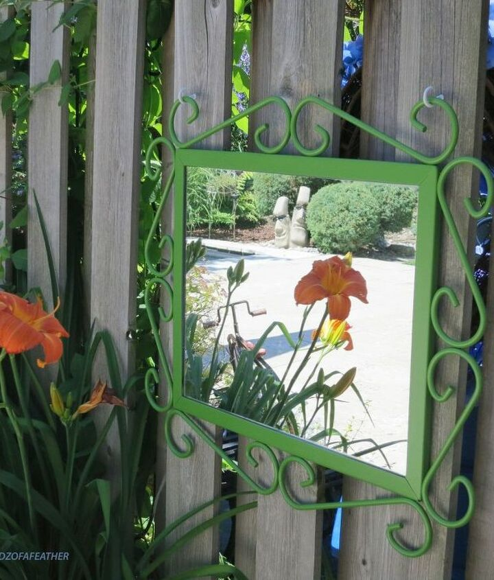 what adhesive to use for a garden mirror