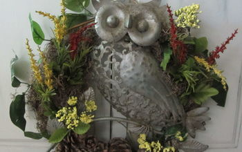 my owl finally has a perch