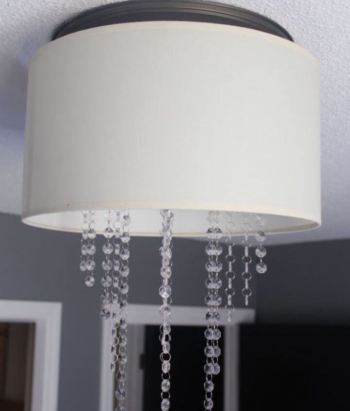 drum chandelier diy for 6