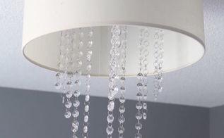 drum chandelier diy for 6