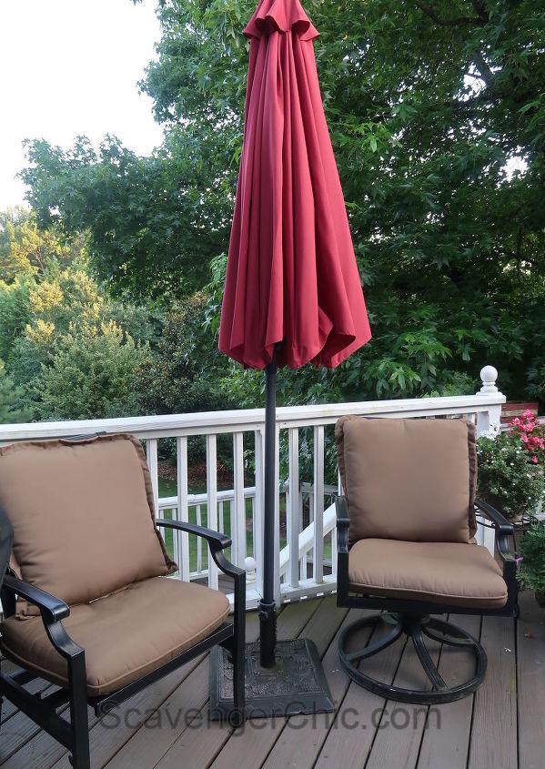 Super Easy Fix For A Patio Umbrella Cord