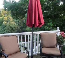Nice Super Easy Fix For A Patio Umbrella Cord