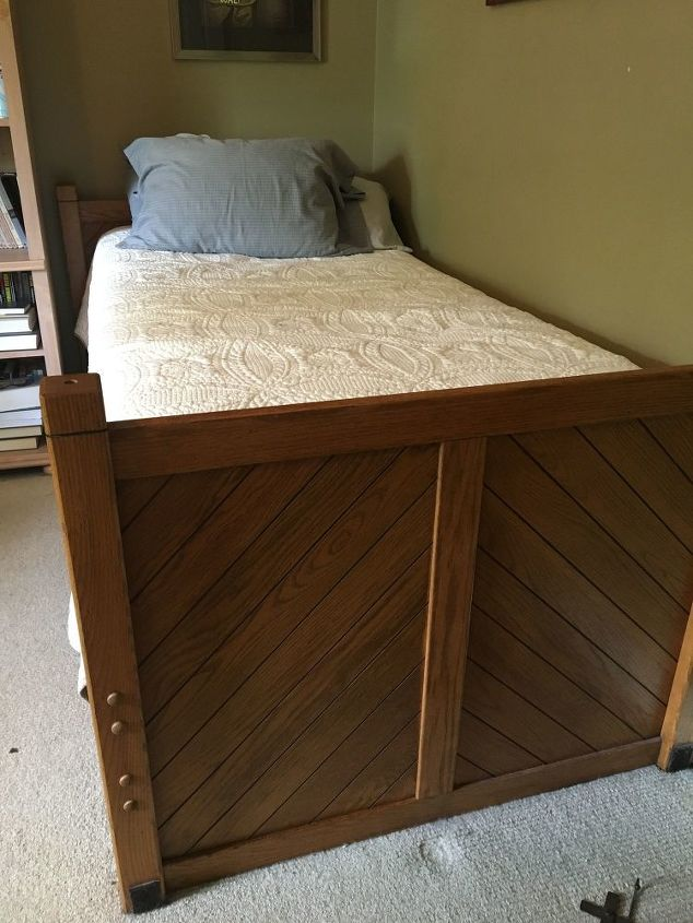 How Can I Convert A Twin Bed Into A Couch Like Piece Of