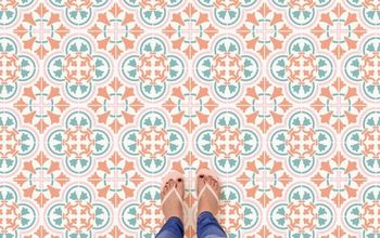 DIY Perfect Pastel Tile Floor