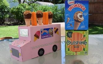 DIY Ice Cream Truck Serving Station