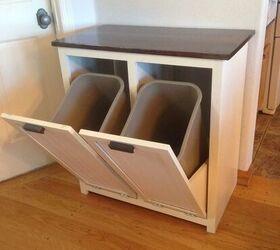 How To Build A Custom Tilt Out Trash Cabinet