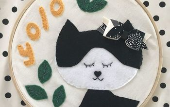 YOLO - Easy DIY Felt Wall Hanging