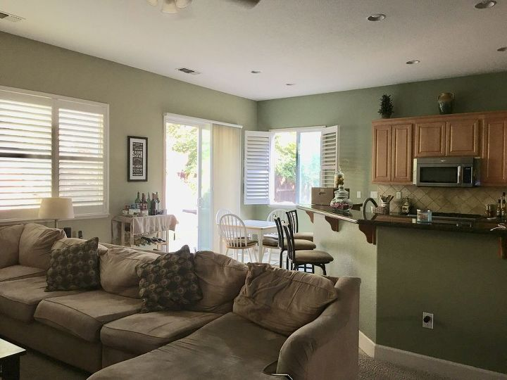q looking to refresh my kitchen family room thoughts