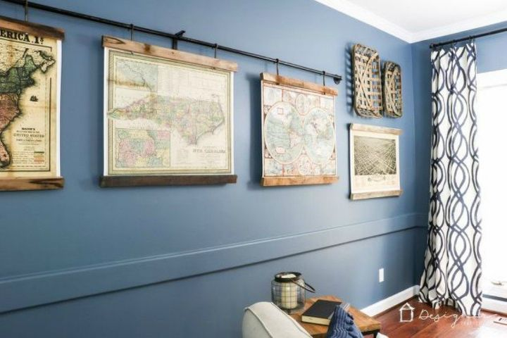 s the 15 coolest ways to reuse pipes in your home decor, Use it to hang up artwork