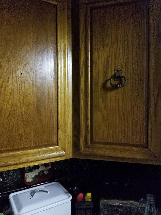 q i would like to paint our kitchen cabinets