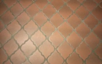 q how can i paint this 1960 s terracotta tile