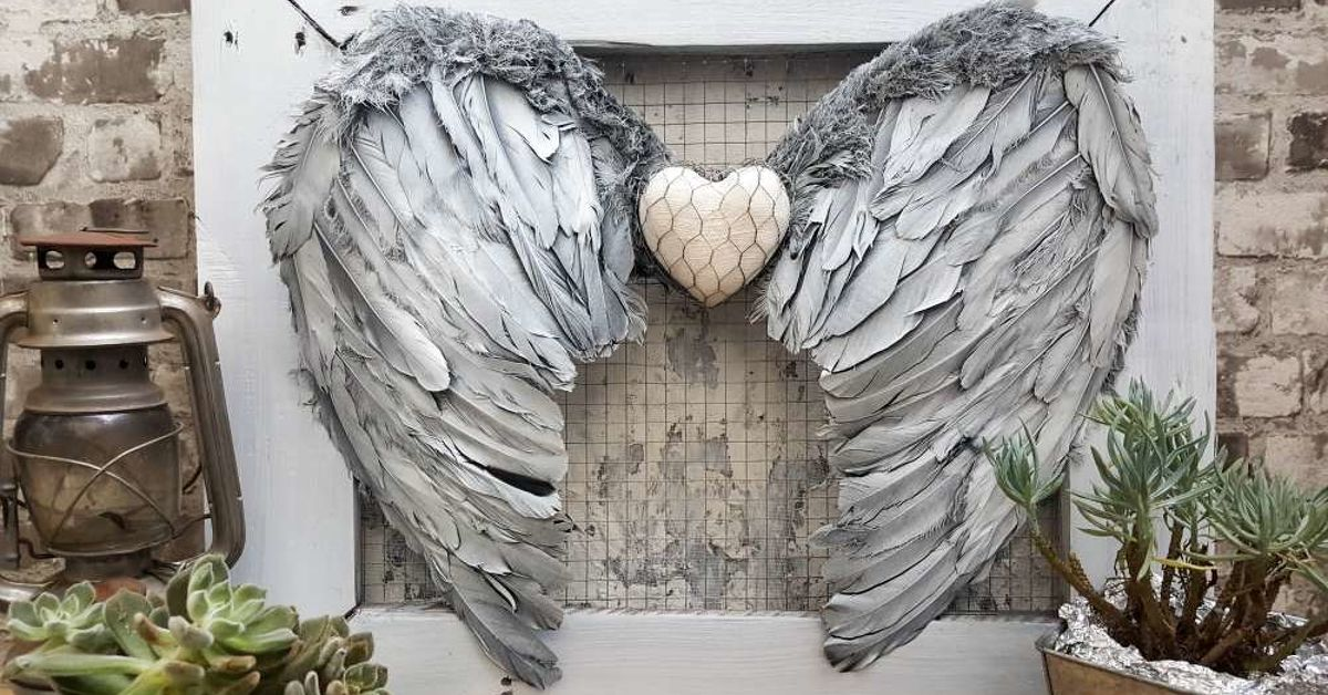 Stunning And Easy Angel Wings Wall Decor Hometalk