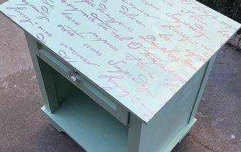 Curbside Find Nightstand Poetic DIY Furniture Makeover