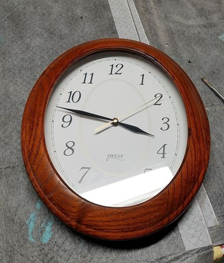 it s about time easy clock makeover