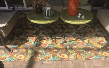 Outdoor Rug Made Easy