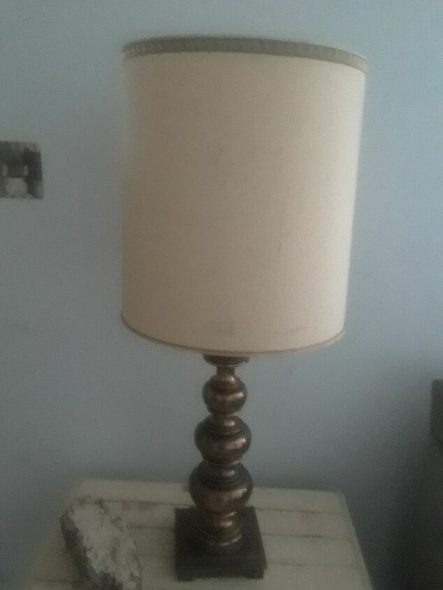 q what s the right products i can use to refinish 2 lamps