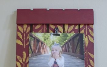 DIY Simple Wood Picture Frame