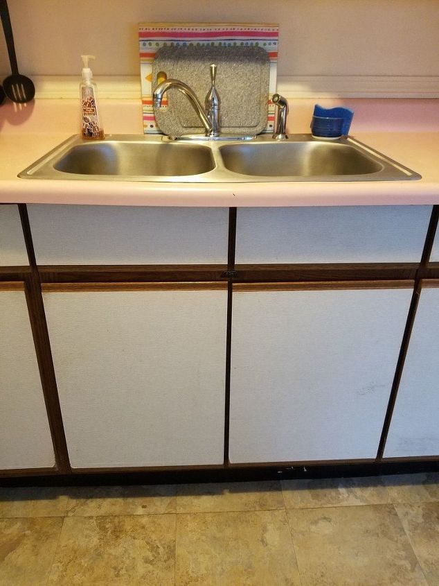 How Could I Redo My Ugly Laminated Kitchen Cabinets