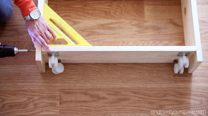diy pull out storage cabinet