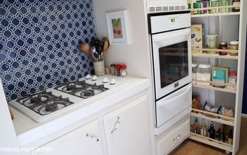DIY Pull Out Kitchen Storage Cabinet