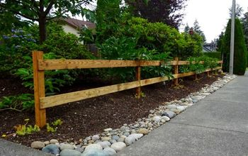 How to Build a Two Rail Wood Fence