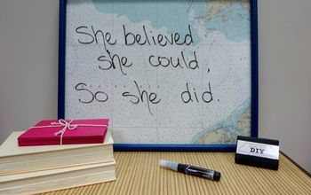 Make a Dry Erase Memo Board From an Old Picture Frame