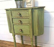 martha washington sewing cabinet gets a farmhouse makeover, Martha Washington Sewing Cabinet