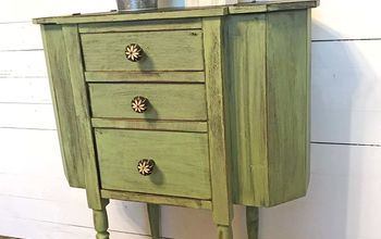 martha washington sewing cabinet gets a farmhouse makeover, Martha Washington Sewing Cabinet
