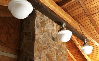 diy rustic industrial farmhouse light fixture