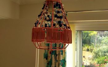 jewelled lantern light fitting light challenge, As it would look hanging