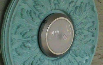 super simply push button light