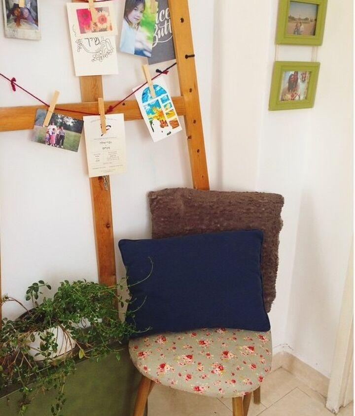 broken chair to sweet ottoman