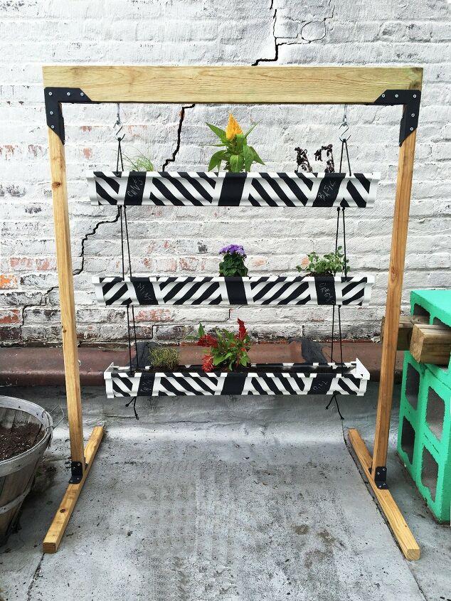 s 16 ways to showcase your herb garden, Vertical Planters