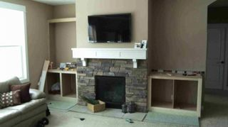 How Do I Build Shelves In Alcoves On Both Sides Of My Fireplace