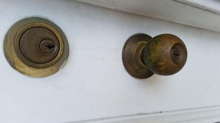 q exterior brass door cleaner
