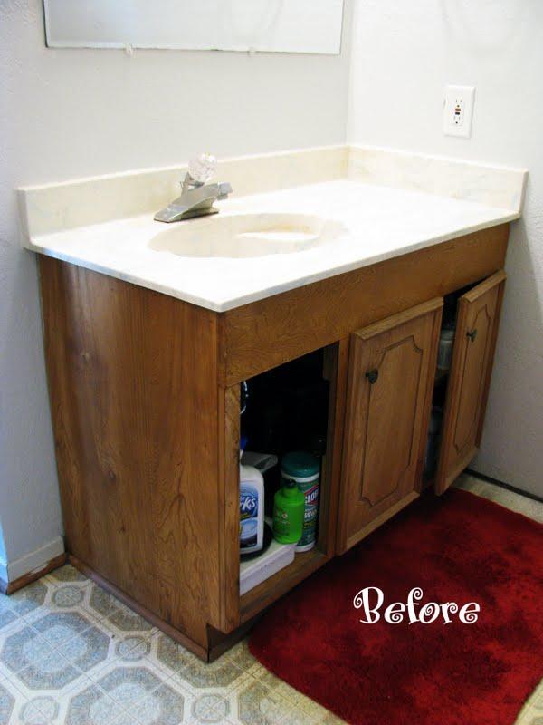 diy master bathroom vanity