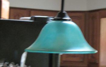 jazzing up my pendant lamp