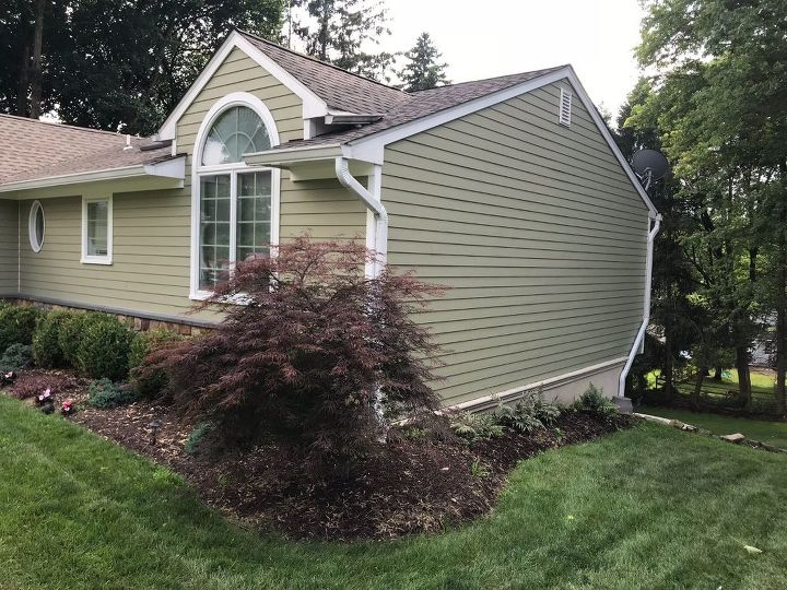q help needed on what to put on this side of the house