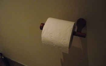 Wooden Loo Roll Holder