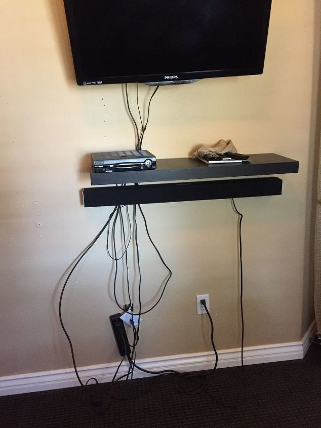 q what can i do to get rid of this cable mess