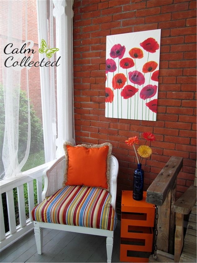 s 15 genius curtain ideas to instantly upgrade your space, Stretch Your Curtain Into Patio Art