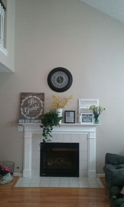 Needing To Add Character To Gas Fireplace In Living Room Hometalk