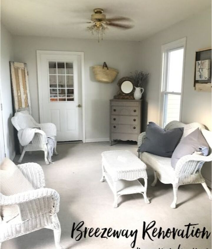 french country breezeway