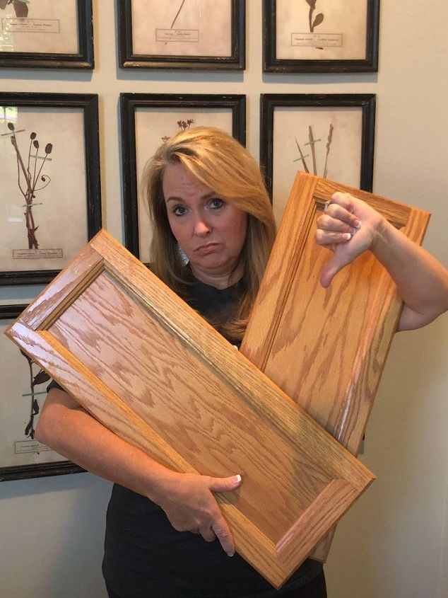Update Your Golden Oak Cabinets Hometalk