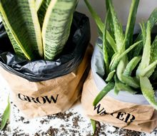 waterproof paper bag planters
