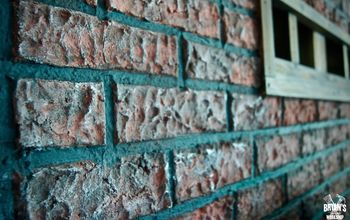 Paper Clay Brick Wall!
