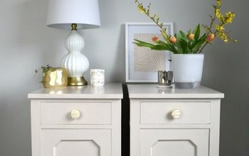 Give Old Bedside Cabinets a New Lease of Life Using Paint
